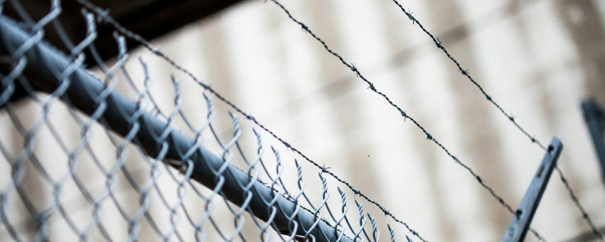 clôture de chantier